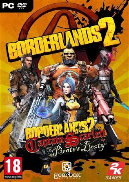 Borderlands 2: Captain Scarlett and her Pirate´s Booty