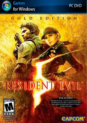 Resident Evil 5 Gold Edition (Steam KEY) + ПОДАРОК