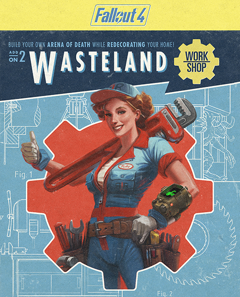 Fallout 4: DLC Wasteland Workshop (Steam KEY) + ПОДАРОК