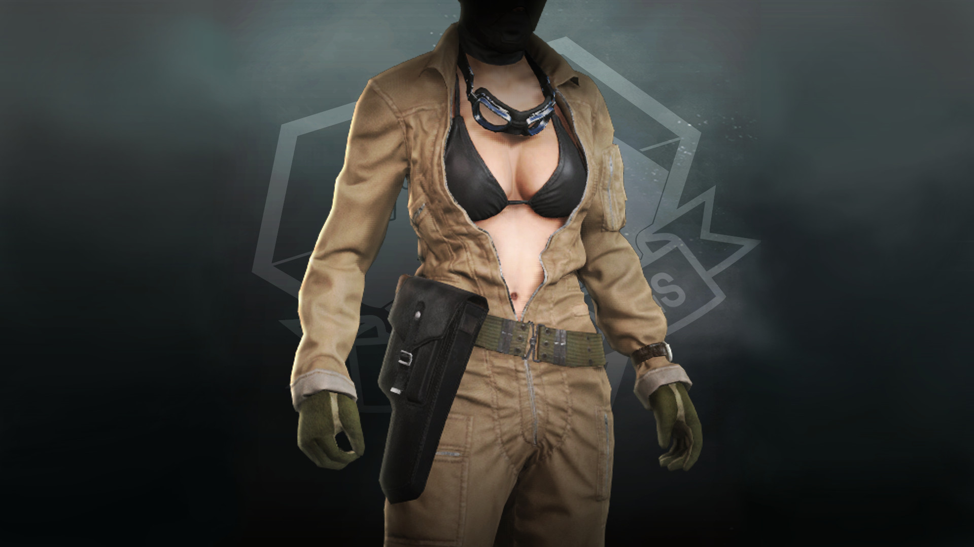 Metal Gear Solid V: The Phantom Pain: DLC Jumpsuit EVA