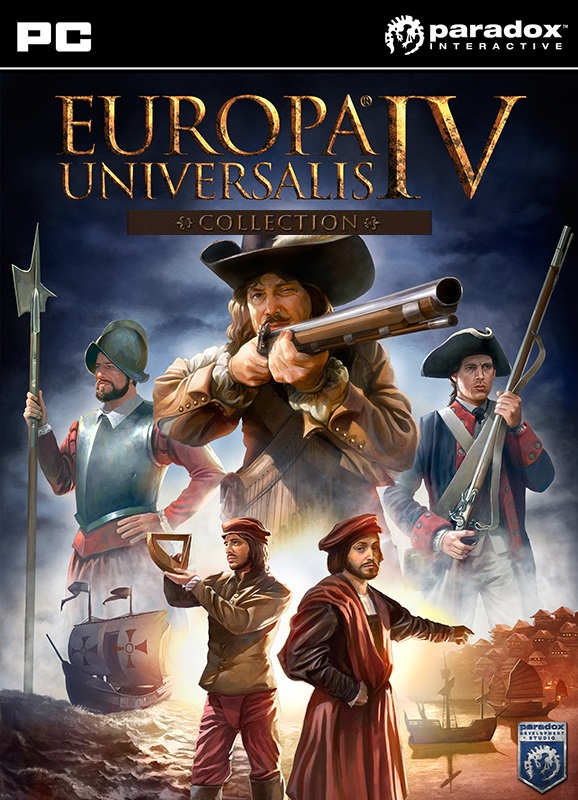 Europa Universalis IV: Collection (Steam KEY) + GIFT