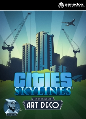 Cities: Skylines DLC Content Creator Pack: Art Deco
