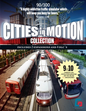 Cities in Motion: Collection (Steam KEY) + ПОДАРОК