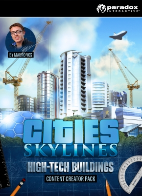 Cities: Skylines DLC Creator Pack: High-Tech Buildings