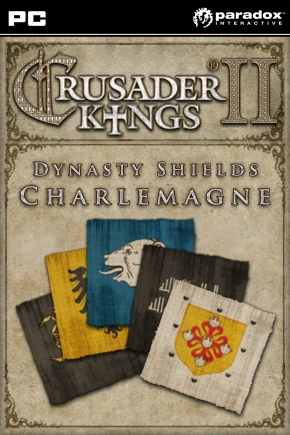 Crusader Kings II: DLC Dynasty Shields Charlemagne