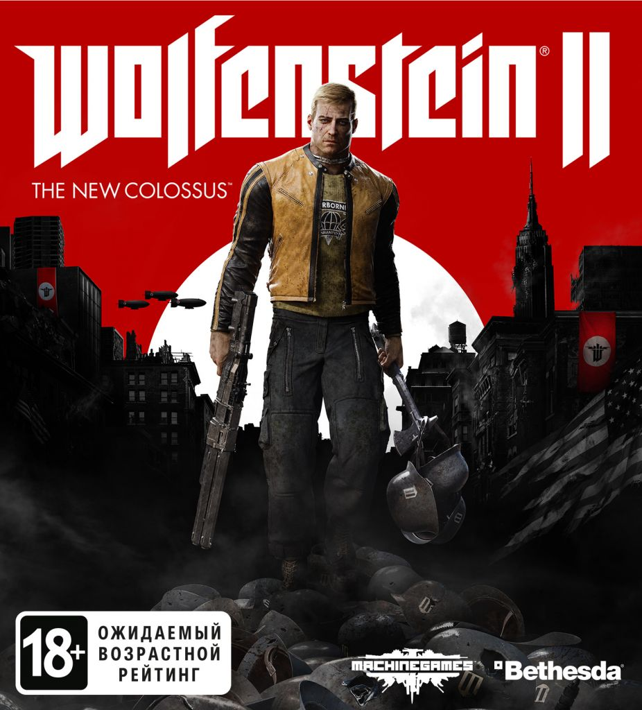 Wolfenstein II: The New Colossus (Steam KEY) + GIFT