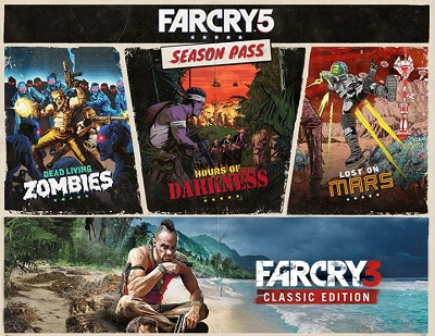 Far Cry 5: Season Pass (Uplay KEY) + GIFT