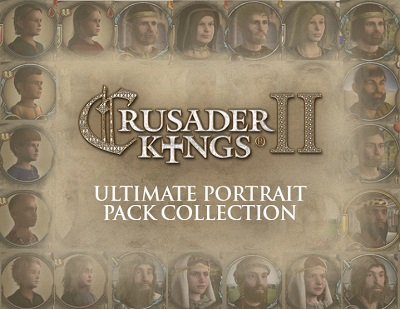 Crusader Kings II: DLC Ultimate Portrait Pack Collectio