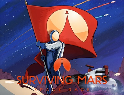Surviving Mars: DLC Space Race (Steam KEY) + GIFT