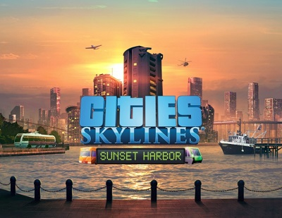 Cities: Skylines: DLC Sunset Harbor (Steam KEY) + GIFT