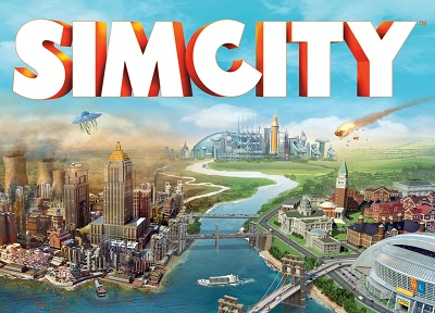SimCity 2013: DLC English city set + GIFT