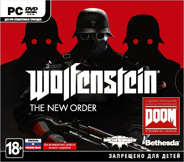 Wolfenstein: The New Order (Region Free) (Steam KEY)