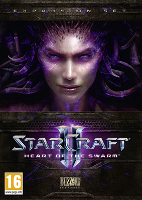starcraft ii: heart of the swarm (rus) + podarok 775.55 rur