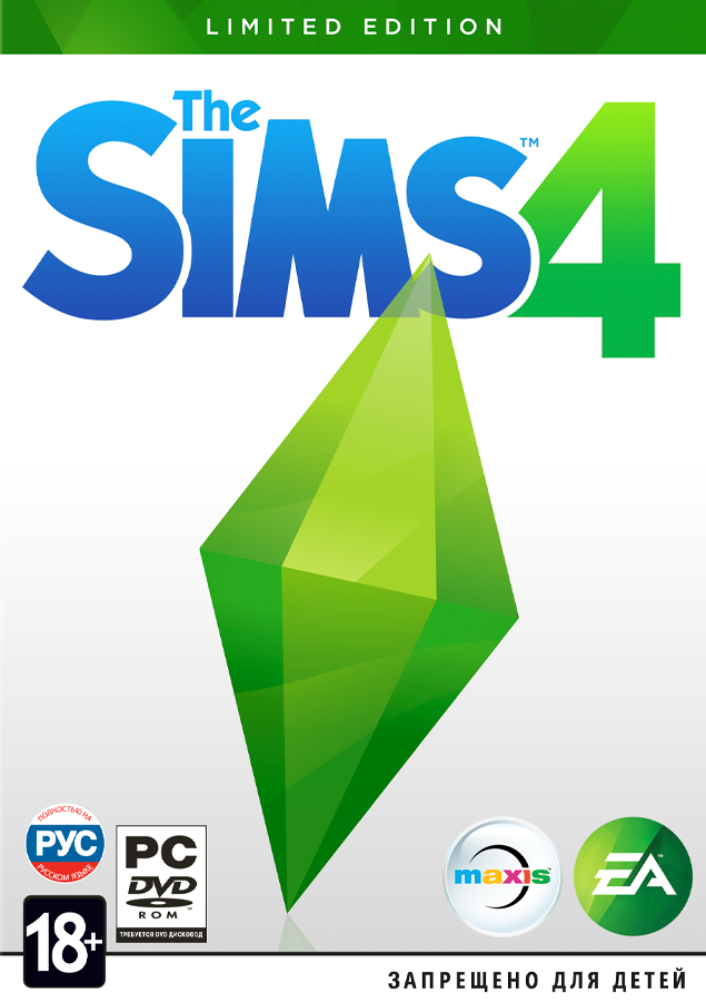 The Sims 4 (Region Free / RU / PL / CZ) (Origin KEY)