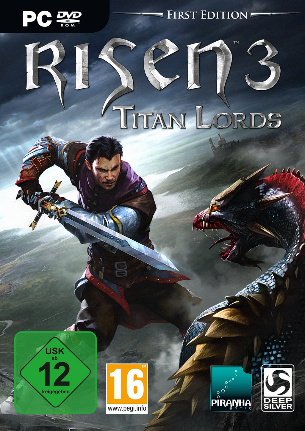 Risen 3 Titan Lords (Steam KEY) + 3 DLC + ПОДАРОК