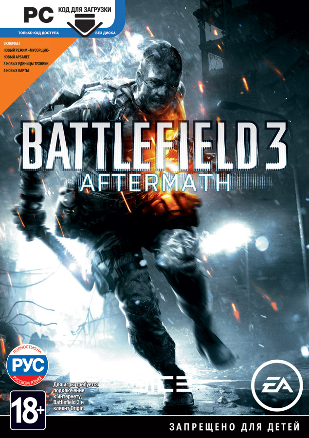 Battlefield 3: Aftermath (Region Free) + GIFT