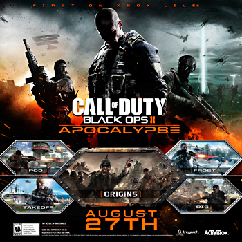 Call of Duty: Black Ops 2: DLC 4 Apocalypse + ПОДАРОК