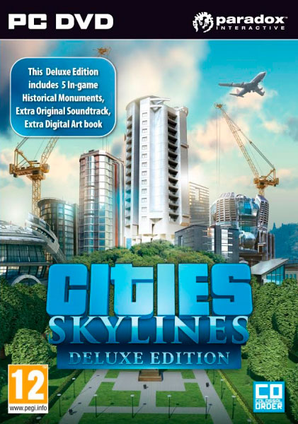 Cities: Skylines Deluxe Edition (Steam KEY) + ПОДАРОК