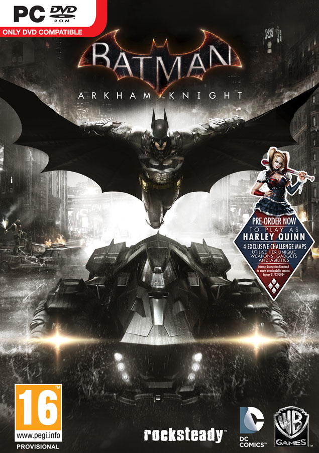 Batman: Arkham Knight + DLC (Steam KEY) + GIFT