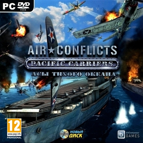 Air Conflicts Pacific Carriers Asa Pacific (Steam KEY)