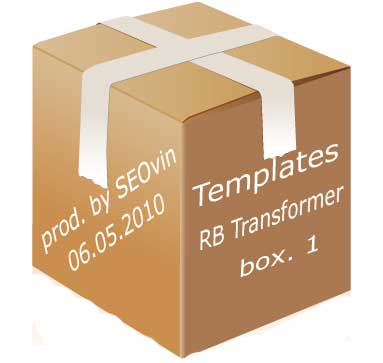 Templates RedButton by WordPress - 5 pcs. (Package - 1)