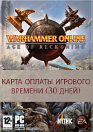 Warhammer Online 30-дней Time Card US/EU Версия