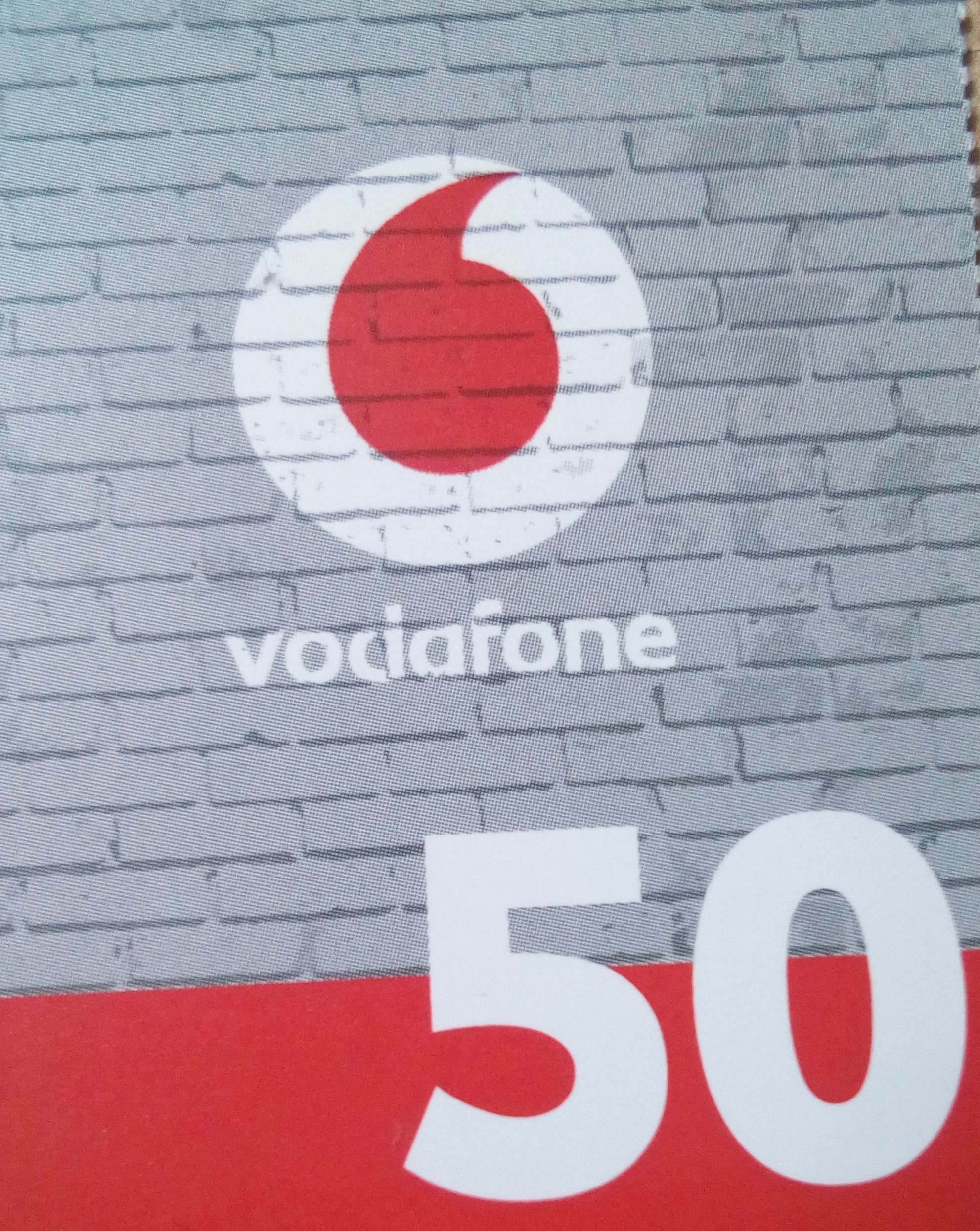 MTS.ua-vodafone.ua-50 UAH. PIN (pin) -code scratch card