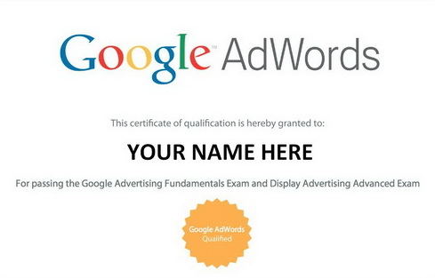"Answers to exam Adwords to ""The Display Network"""