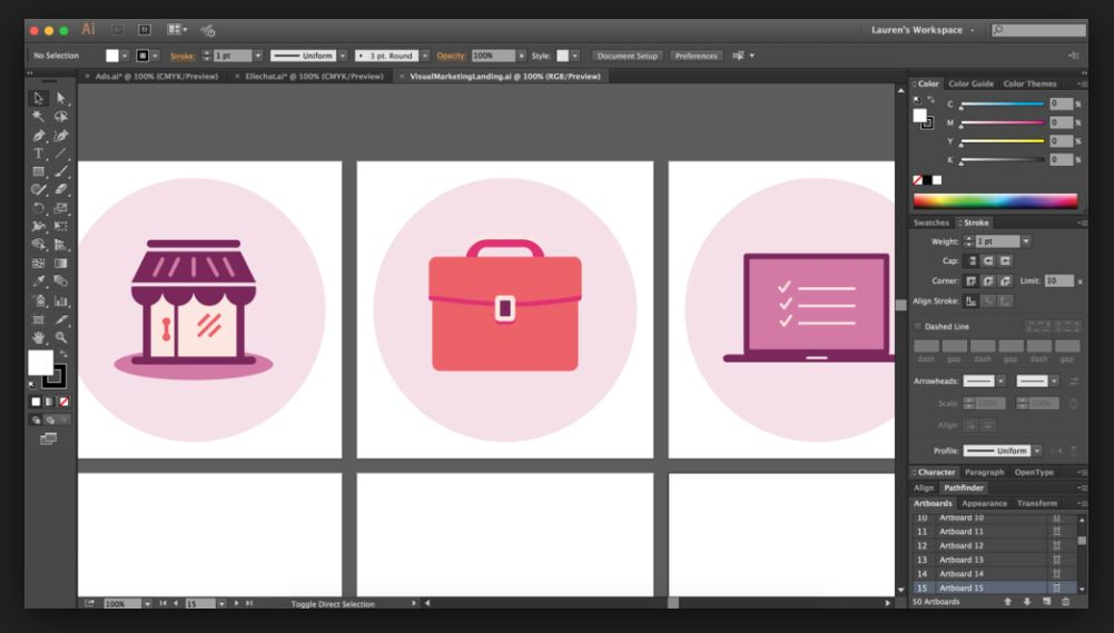 Adobe Illustrator Video Tutorials for Stockers 2019