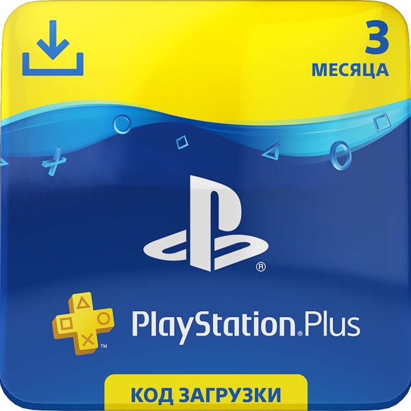 PlayStation Plus (PS Plus) 3 month 90 days subion RUS