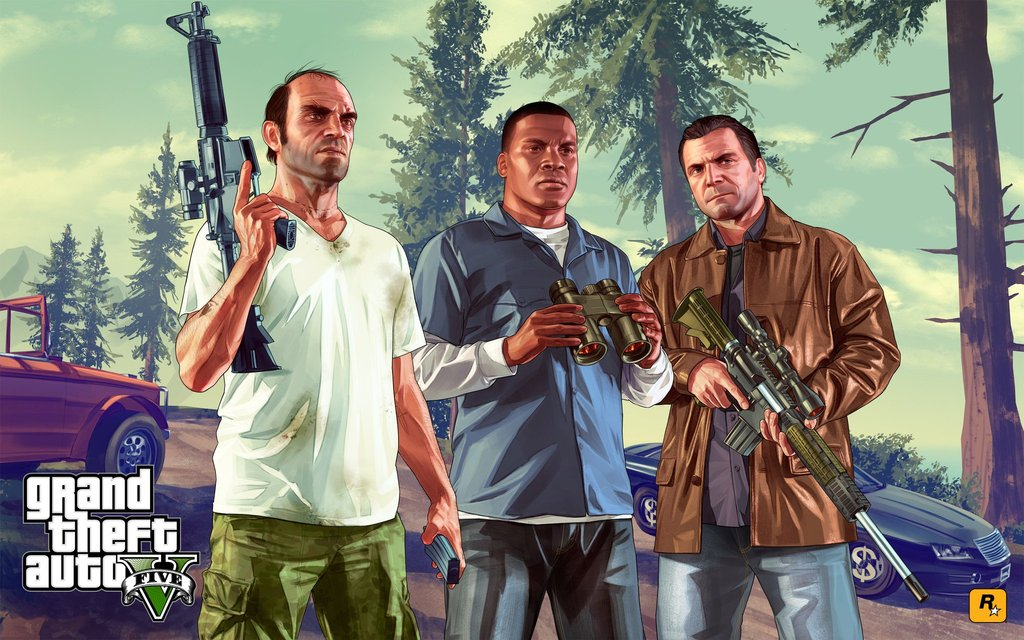 GTA5 / GTA V / Grand Theft Auto 5 Online Epic games