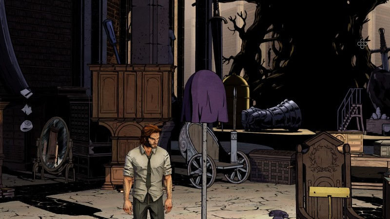 The Wolf Among Us (RU/CIS activation; ROW gift)