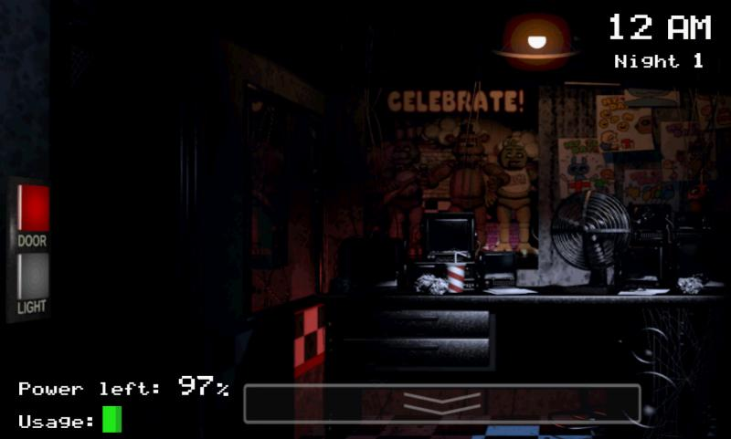 Five Nights at Freddy (RU/CIS activation; Steam ROW)