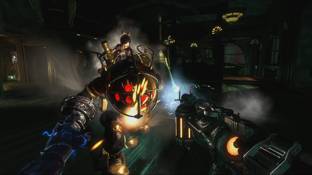 BioShock 2 (RU/CIS activation; Steam ROW gift)