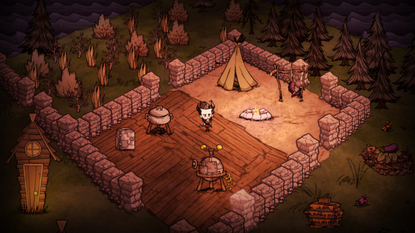 Don´t Starve + Reign of Giants (RU/CIS Steam ROW gift)