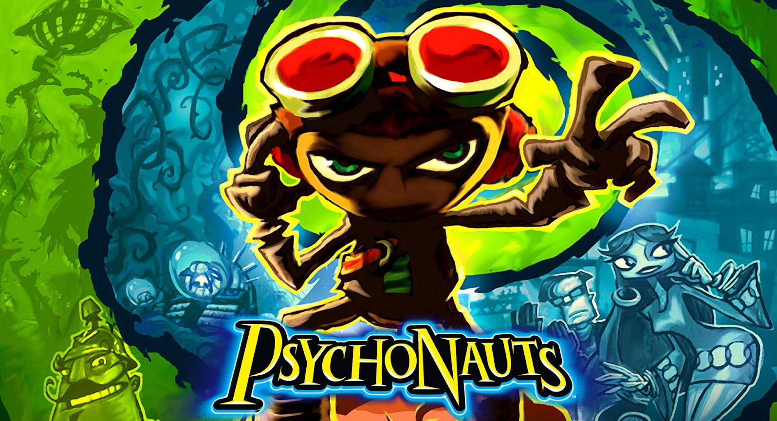 Psychonauts (RU/CIS activation; Steam ROW gift)