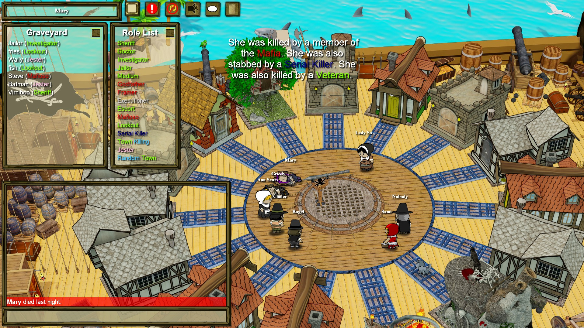 Town of Salem (Mafia online) + gold (RU/CIS Steam)