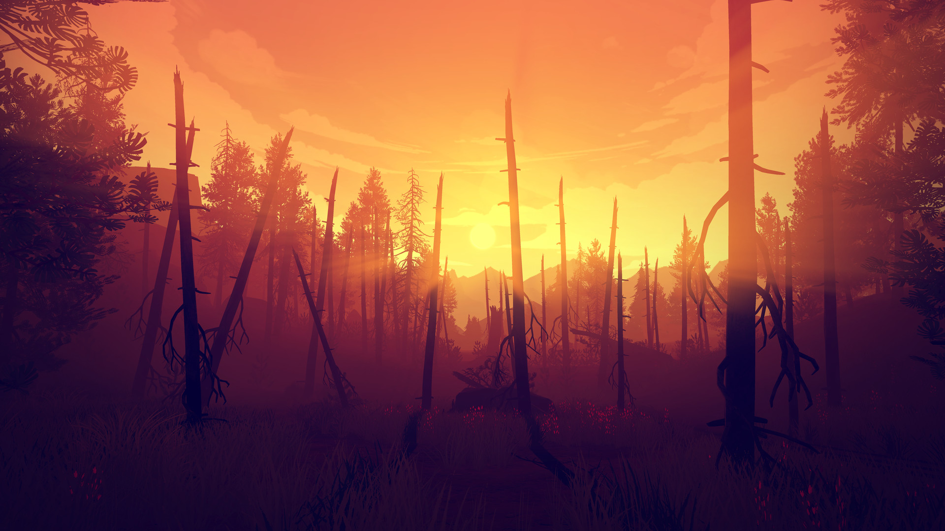 Firewatch (RU/CIS activation; Steam gift)