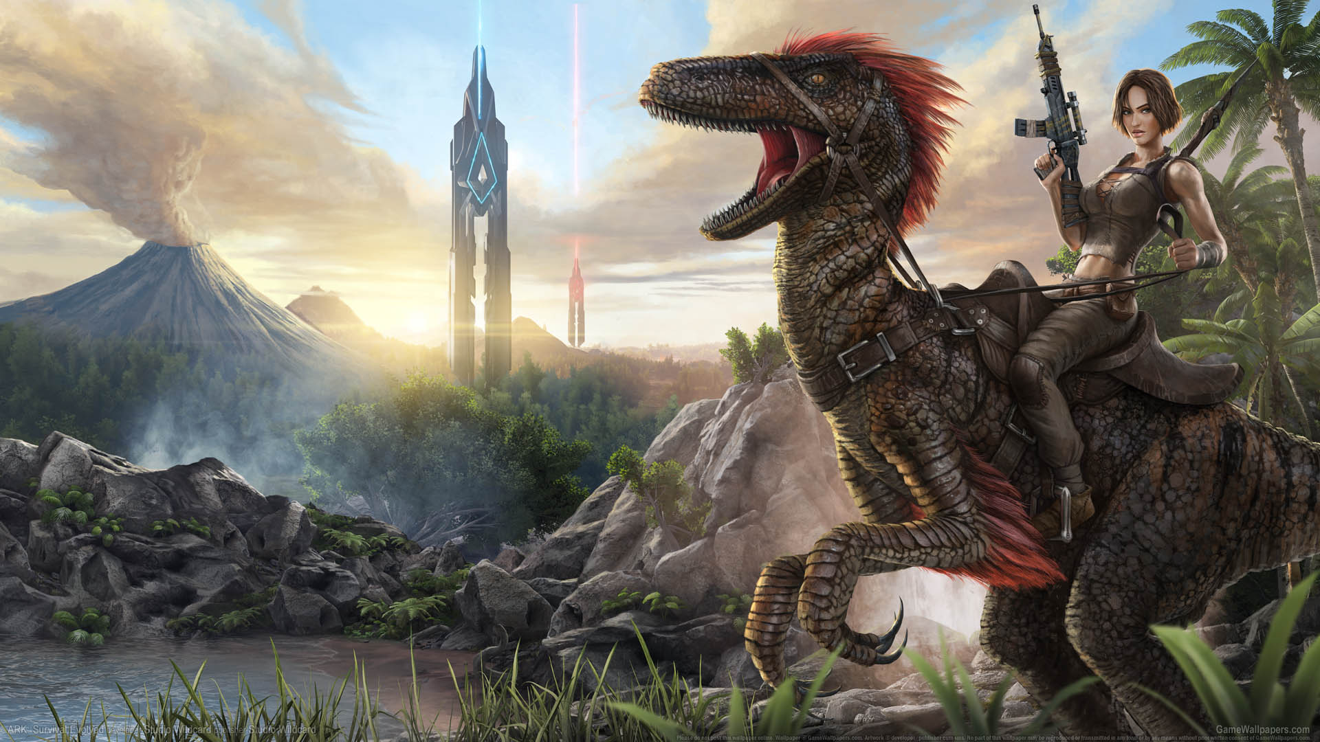 ARK Survival Evolved + Survival of the Fittest (RU/CIS)
