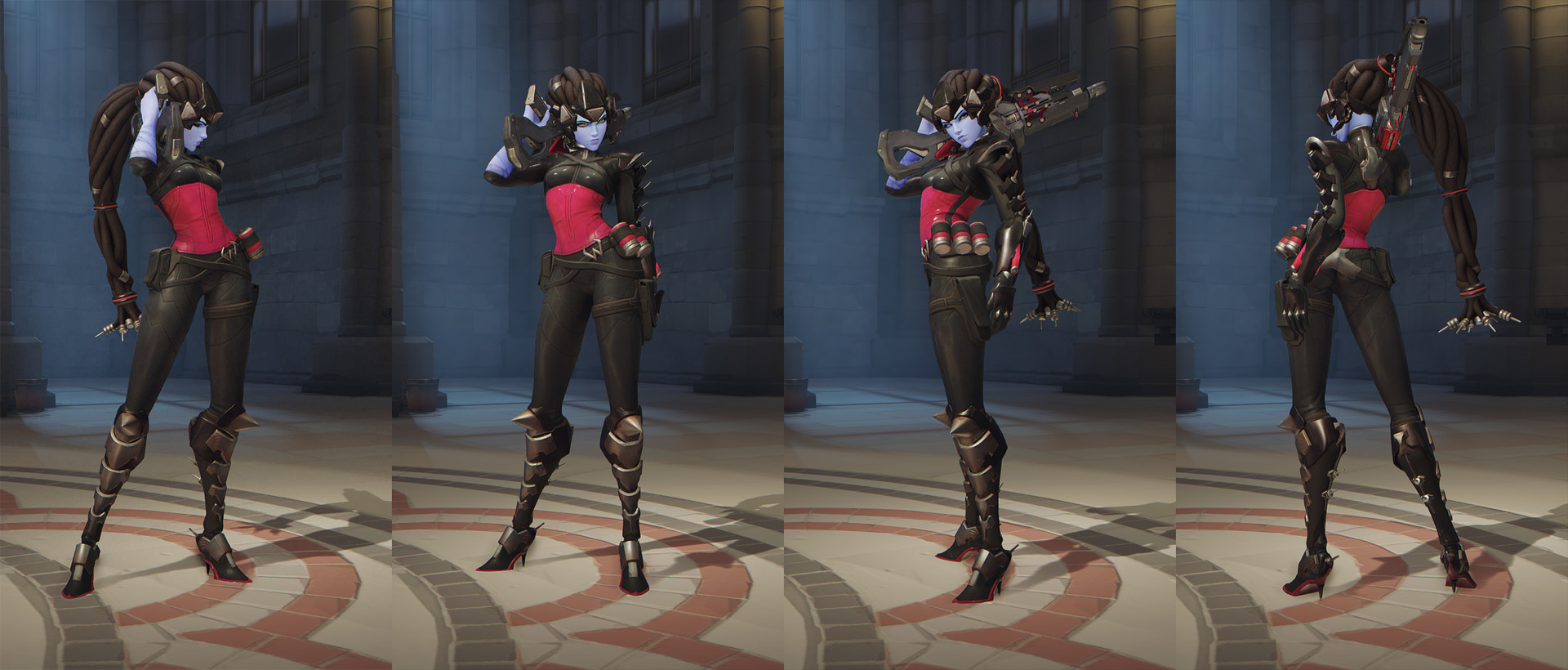 Overwatch skin Widowmaker Noire from Origins edition PC