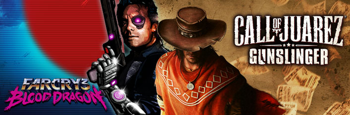 Call of Juarez Gunslinger + Far Cry 3 Blood Dragon ROW