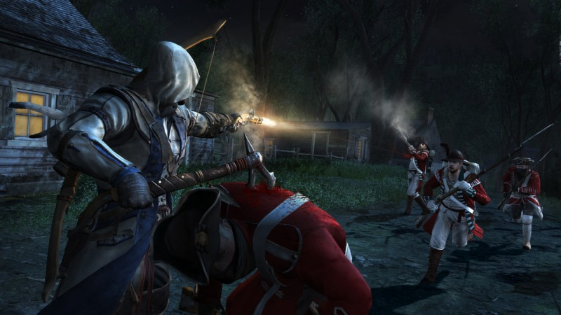 Assassins Creed III 3 (Steam region free; ROW gift)