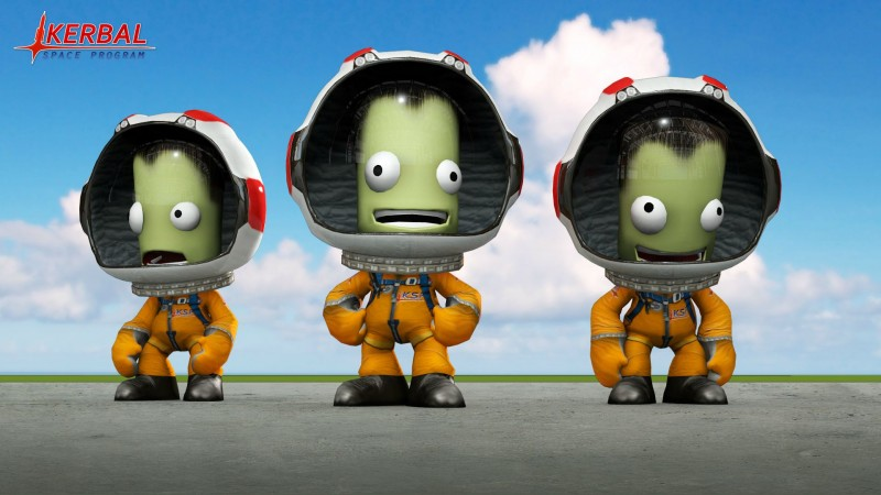 Kerbal Space Program (RU/CIS activation; Steam gift)