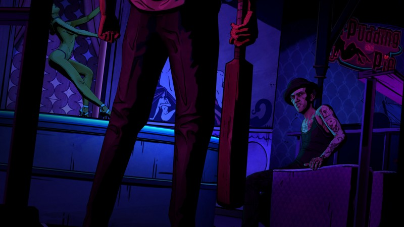 The Wolf Among Us (Steam region free; ROW gift)