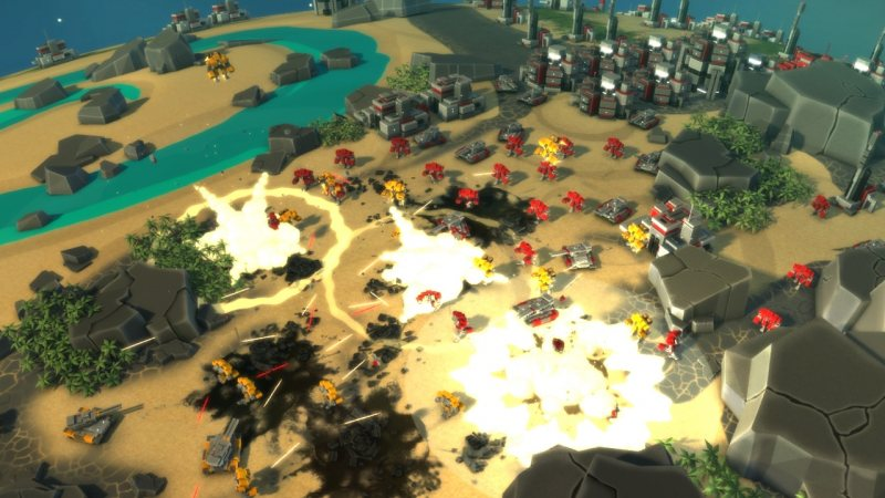 Planetary Annihilation (Steam region free; ROW gift)