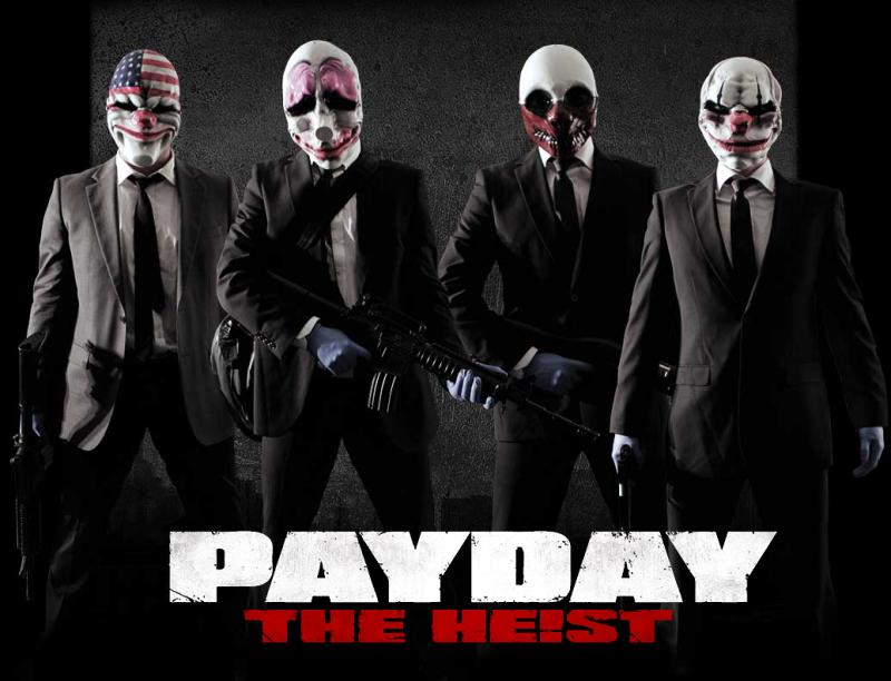 Payday the Heist (Steam region free; ROW gift)