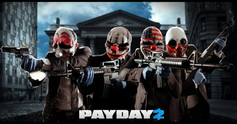 Account Payday 2 (Steam region free; ROW account)
