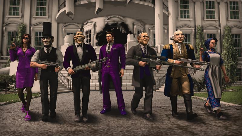 Saints Row IV 4 Game of the Century ALL DLC (ROW gift)