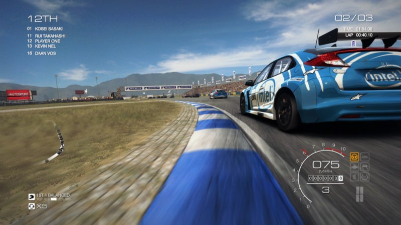 GRID Autosport (Steam region free; ROW gift)