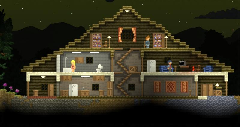 Starbound (RU/CIS activation; Steam gift)